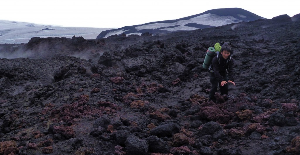Lava of the Eyjafjallajökull