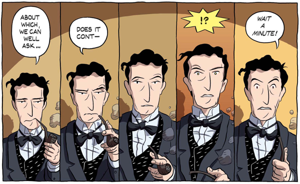 Russell in Logicomix