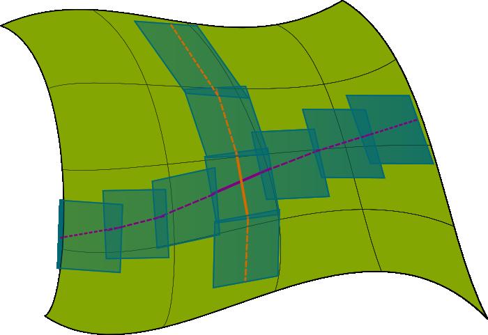 Lines in Spacetime