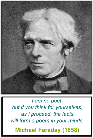 Faraday's Quote