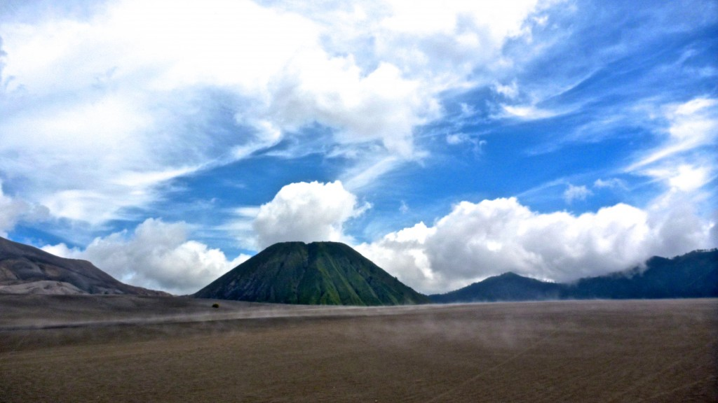 Bromo and the Dance of Clouds