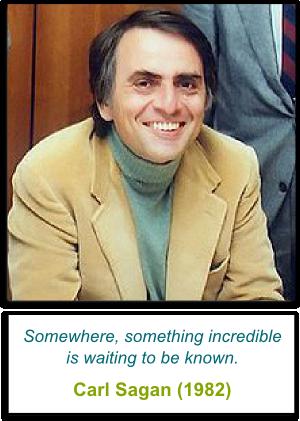 Sagan's Quote
