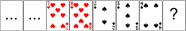 Badly Shuffled Cards