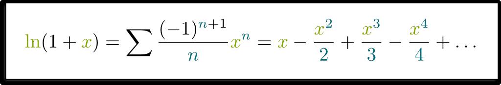 ln(1+x)